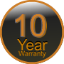 10 Year Warranty Information for Stainless Cable & Railing Inc. Systems